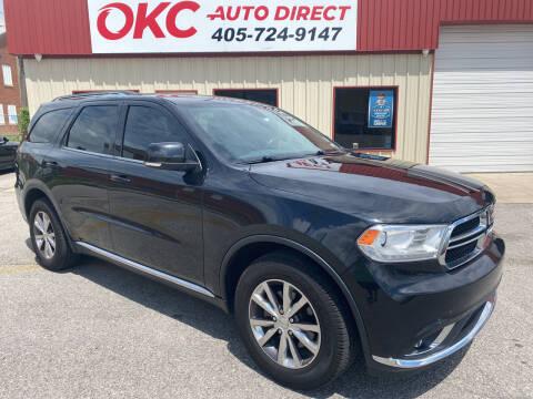 2016 Dodge Durango for sale at OKC Auto Direct, LLC in Oklahoma City OK