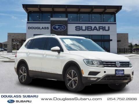 2019 Volkswagen Tiguan for sale at Douglass Automotive Group - Douglas Subaru in Waco TX
