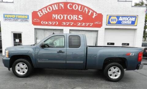 2011 Chevrolet Silverado 1500 for sale at Brown County Motors in Russellville OH