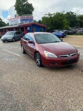 2006 Honda Accord for sale at Twin Motors in Austin TX
