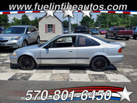 1997 Honda Civic for sale at FUELIN FINE AUTO SALES INC in Saylorsburg PA