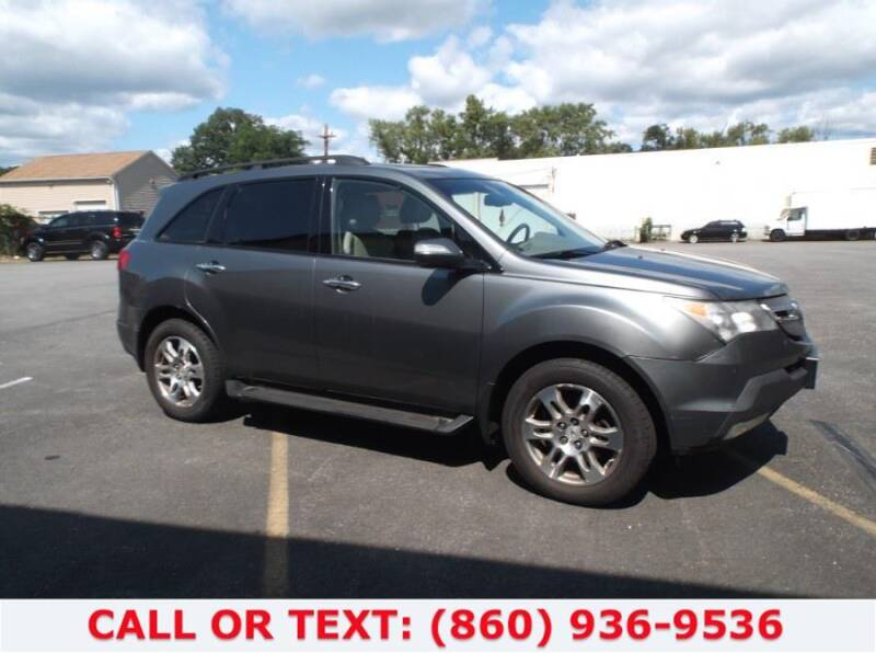 2008 Acura MDX for sale at Lee Motor Sales Inc. in Hartford CT