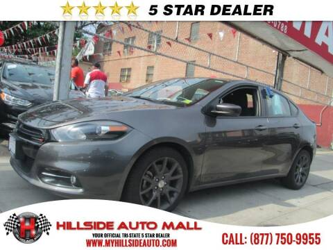 2016 Dodge Dart for sale at HILLSIDE AUTO MALL INC in Jamaica NY