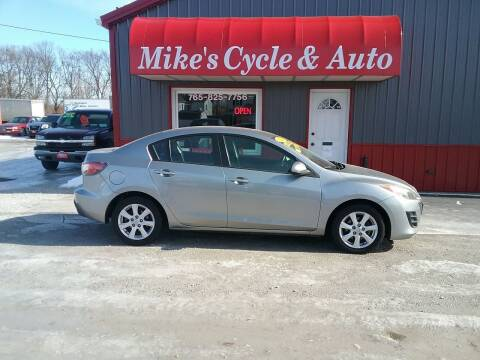 2010 Mazda MAZDA3 for sale at MIKE'S CYCLE & AUTO in Connersville IN
