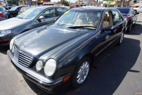 2001 Mercedes-Benz E-Class for sale at Thomas Auto Sales in Manteca CA
