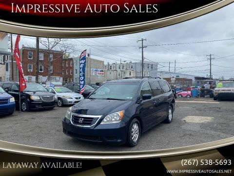 2010 Honda Odyssey for sale at Impressive Auto Sales in Philadelphia PA