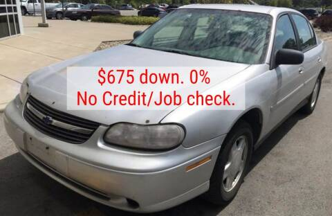 2003 Chevrolet Malibu for sale at D & J AUTO EXCHANGE in Columbus IN