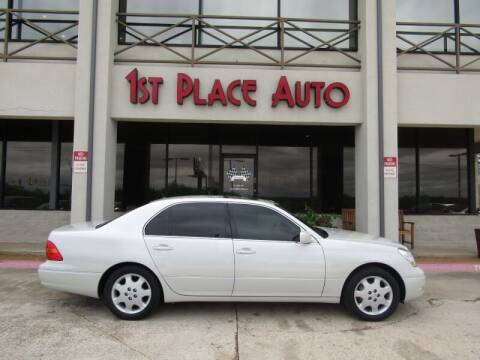 2003 Lexus LS 430 for sale at First Place Auto Ctr Inc in Watauga TX