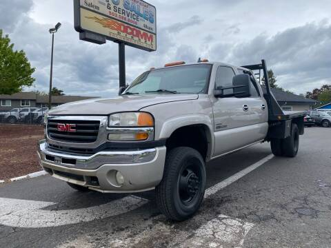 2006 GMC Sierra 3500 for sale at South Commercial Auto Sales in Salem OR