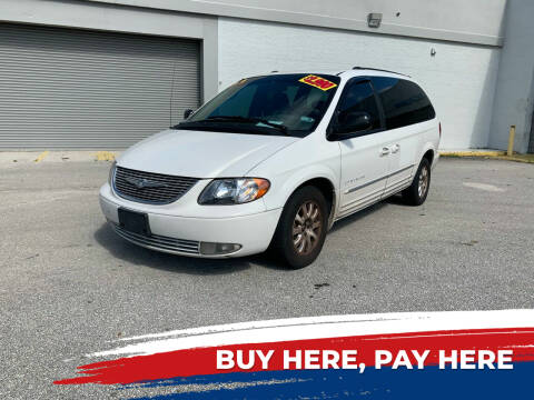 2001 Chrysler Town and Country for sale at Mid City Motors Auto Sales - Mid City South in Fort Myers FL