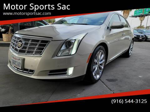 2013 Cadillac XTS for sale at Motor Sports Sac in Sacramento CA