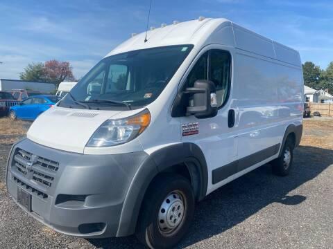 2015 RAM ProMaster Cargo for sale at MBL Auto in Fredericksburg VA