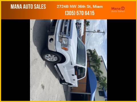 2014 Ford F-150 for sale at MANA AUTO SALES in Miami FL