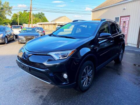 2018 Toyota RAV4 Hybrid for sale at Dijie Auto Sale and Service Co. in Johnston RI