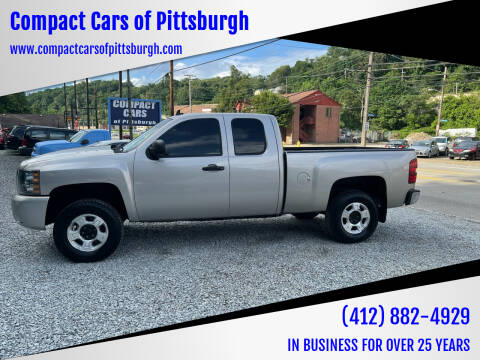2009 Chevrolet Silverado 1500 for sale at Compact Cars of Pittsburgh in Pittsburgh PA