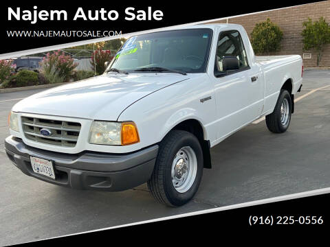 2002 Ford Ranger for sale at Najem Auto Sale in Sacramento CA