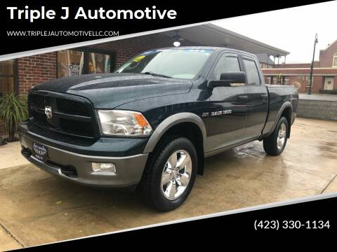 2011 RAM Ram Pickup 1500 for sale at Triple J Automotive in Erwin TN