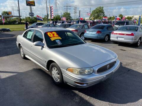 2002 Buick LeSabre for sale at Texas 1 Auto Finance in Kemah TX