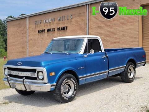 1970 Chevrolet C/K 10 Series for sale at I-95 Muscle in Hope Mills NC