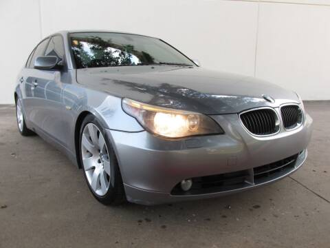 2004 BMW 5 Series for sale at QUALITY MOTORCARS in Richmond TX
