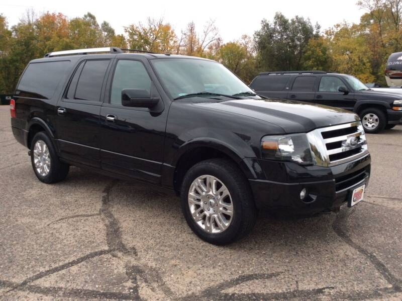 2013 Ford Expedition EL for sale at MOTORS N MORE in Brainerd MN