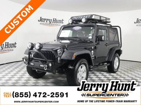 2015 Jeep Wrangler for sale at Jerry Hunt Supercenter in Lexington NC