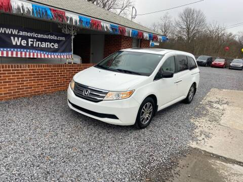 2012 Honda Odyssey for sale at American Auto in Rayville LA