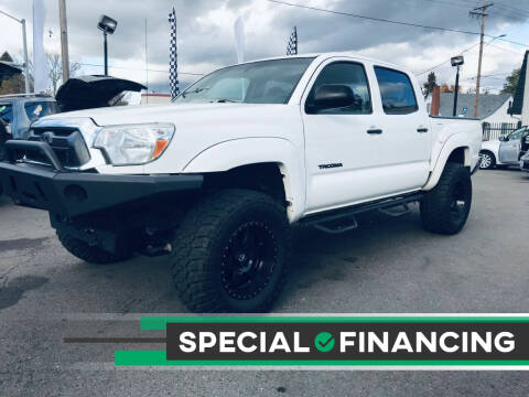 2014 Toyota Tacoma for sale at Salem Auto Market in Salem OR