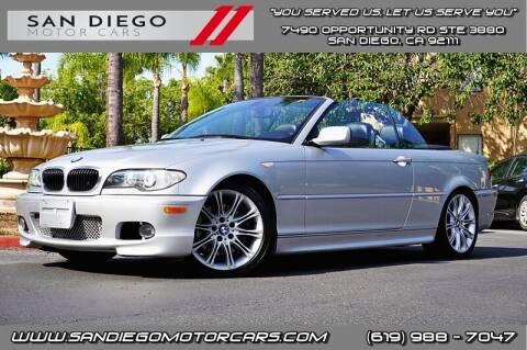 2004 BMW 3 Series for sale at San Diego Motor Cars LLC in San Diego CA