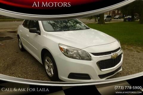 2015 Chevrolet Malibu for sale at A1 Motors Inc in Chicago IL