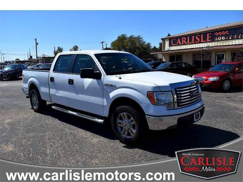 2011 Ford F-150 for sale at Carlisle Motors in Lubbock TX