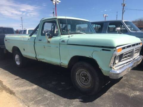 1977 Ford F-250 for sale at FIREBALL MOTORS LLC in Lowellville OH