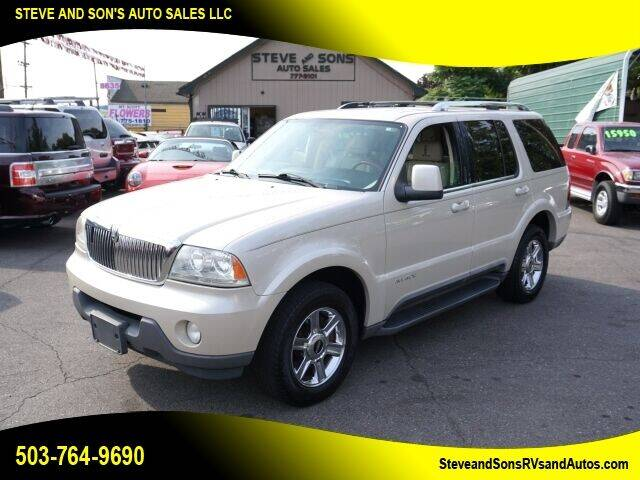 2005 Lincoln Aviator for sale at Steve & Sons Auto Sales in Happy Valley OR