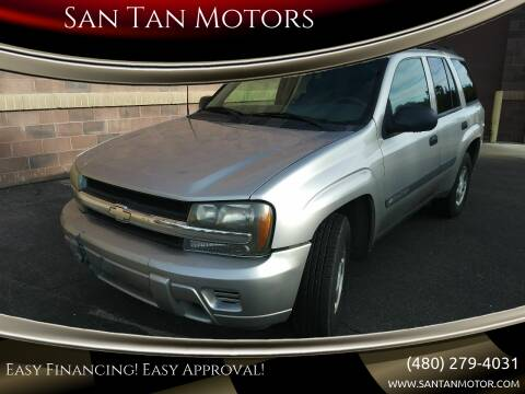 2004 Chevrolet TrailBlazer for sale at San Tan Motors in Queen Creek AZ