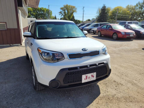 2015 Kia Soul for sale at J & S Auto Sales in Thompson ND