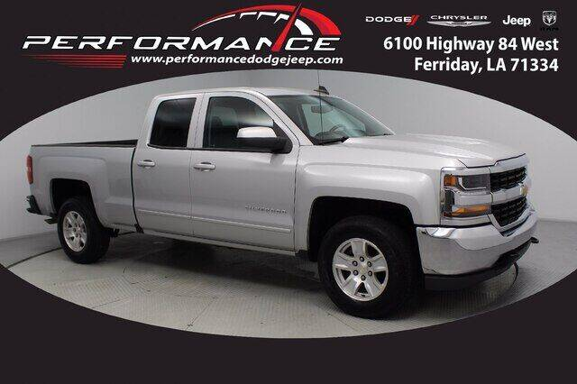 2018 Chevrolet Silverado 1500 for sale at Auto Group South - Performance Dodge Chrysler Jeep in Ferriday LA