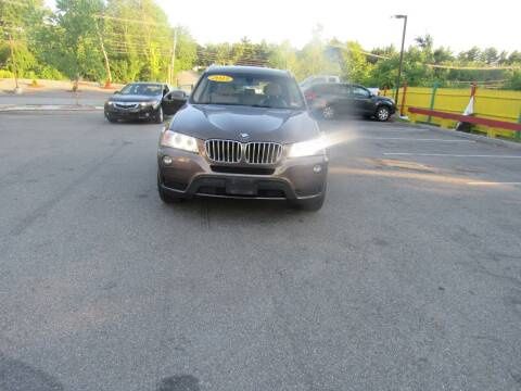 2013 BMW X3 for sale at Heritage Truck and Auto Inc. in Londonderry NH