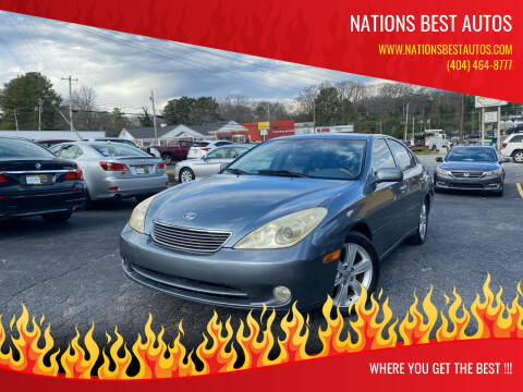 2005 Lexus ES 330 for sale at Nations Best Autos in Decatur GA