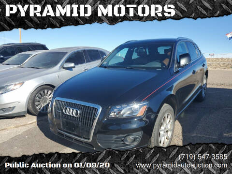 2007 Audi Q7 for sale at PYRAMID MOTORS - Pueblo Lot in Pueblo CO