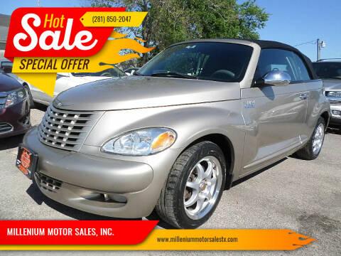 2005 Chrysler PT Cruiser for sale at MILLENIUM MOTOR SALES, INC. in Rosenberg TX