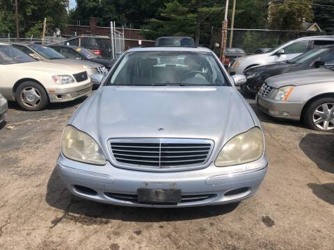 2002 Mercedes-Benz S-Class for sale at Six Brothers Auto Sales in Youngstown OH