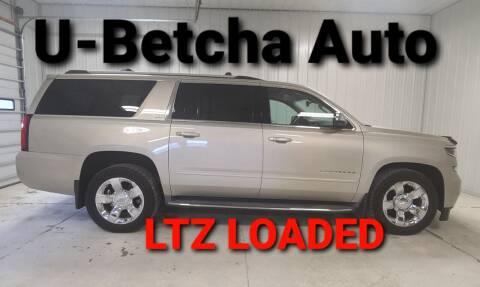 2015 Chevrolet Suburban for sale at Ubetcha Auto in Saint Paul NE