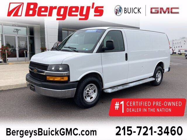 2018 Chevrolet Express Cargo for sale at Bergey's Buick GMC in Souderton PA