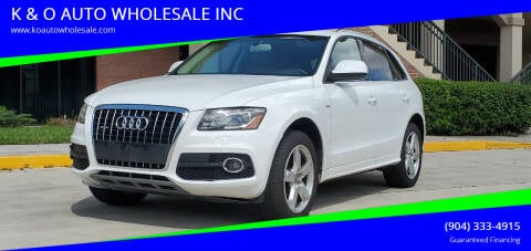 2011 Audi Q5 for sale at K & O AUTO WHOLESALE INC in Jacksonville FL
