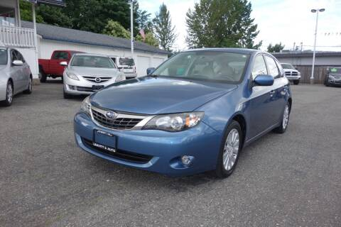 2009 Subaru Impreza for sale at Leavitt Auto Sales and Used Car City in Everett WA