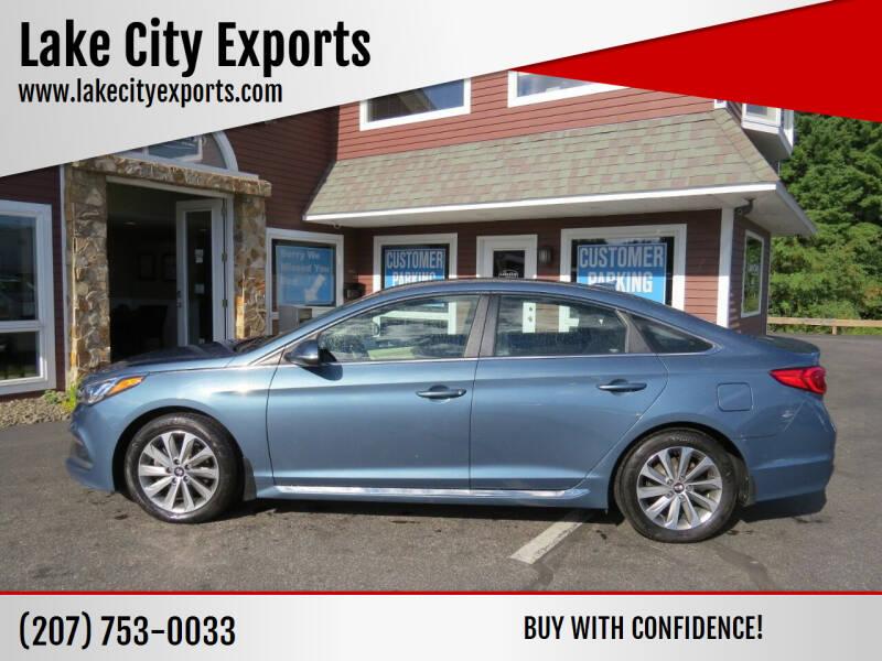 2017 Hyundai Sonata for sale at Lake City Exports in Auburn ME