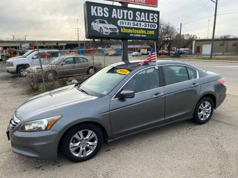 2011 Honda Accord for sale at KBS Auto Sales in Cincinnati OH