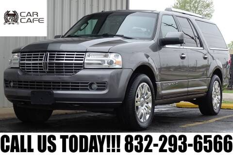 2013 Lincoln Navigator L for sale at CAR CAFE LLC in Houston TX