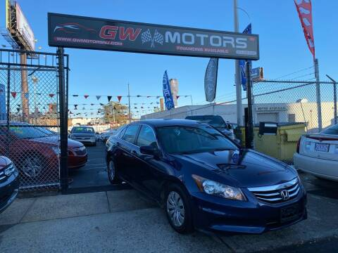 2012 Honda Accord for sale at GW MOTORS in Newark NJ
