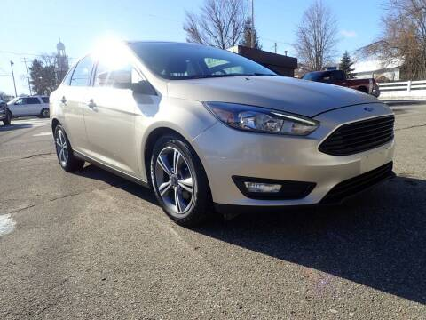 2017 Ford Focus for sale at Marvel Automotive Inc. in Big Rapids MI